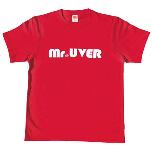 【KING'S PARADE(男祭り)限定】Mr.UVER Tシャツ(レッド)
